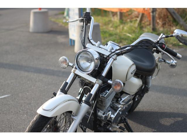 ヤマハ ドラッグスター250 バッグサポート付きの画像(埼玉県