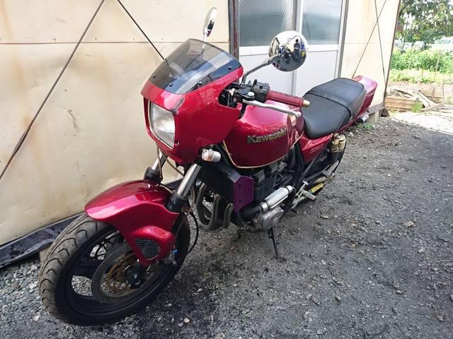 カワサキ ZRX400-II BEETバックステップ RPMマフラー セパハンの画像(埼玉県