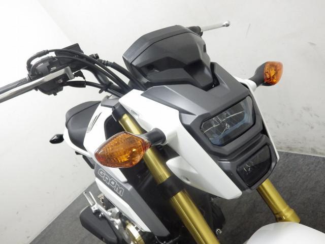 ホンダ グロム 国内モデル JC75型 ホワイトの画像(埼玉県