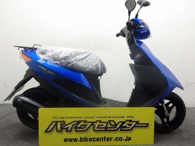 スズキ アドレスV50 XL8 国内モデル ブルーの画像(埼玉県