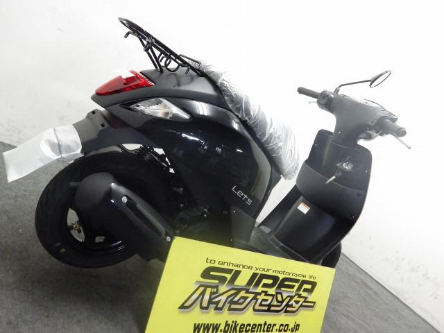 スズキ レッツ L8 国内モデル ブラックの画像(埼玉県