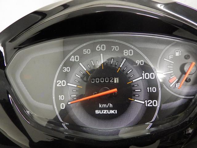 スズキ アドレス125 L8 国内モデル ブラックの画像(埼玉県