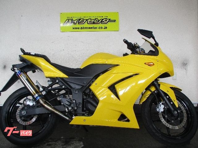 Ninja 250R 2012年式 EX250K サンセイレーシングマフラー
