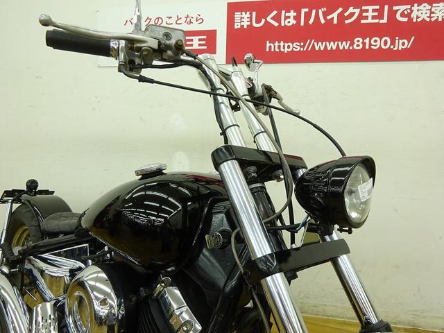 ヤマハ ドラッグスター400 ストレッチタンク ストレッチパイプマフラーの画像(千葉県