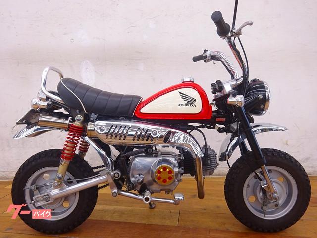 モンキー 2000年モデル マフラー シートカスタム