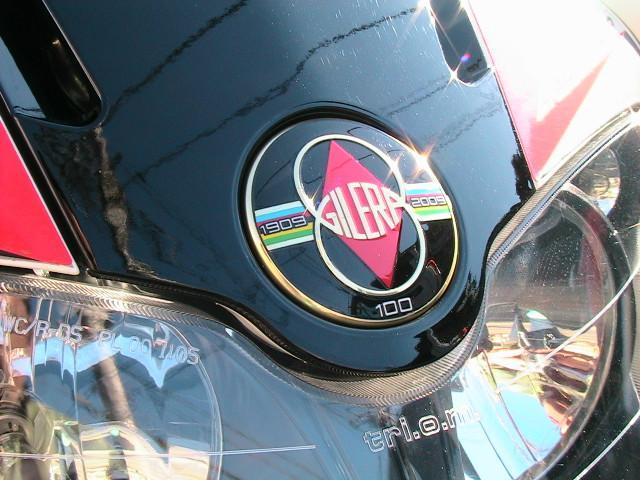 GILERA ランナーST200 ピアジオリーダーエンジン 赤ステッチ入シート イモビマスターの画像(神奈川県
