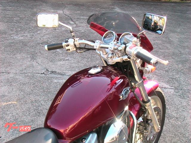 ホンダ VRX Roadster キャンディトランスパレントレッド 同色ビキニカウル装着の画像(神奈川県