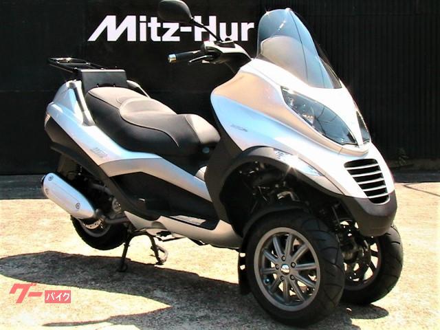 MP3 250RL 可動式リアキャリア装着 アンテナ分離式2輪車専用ETC車載器搭載