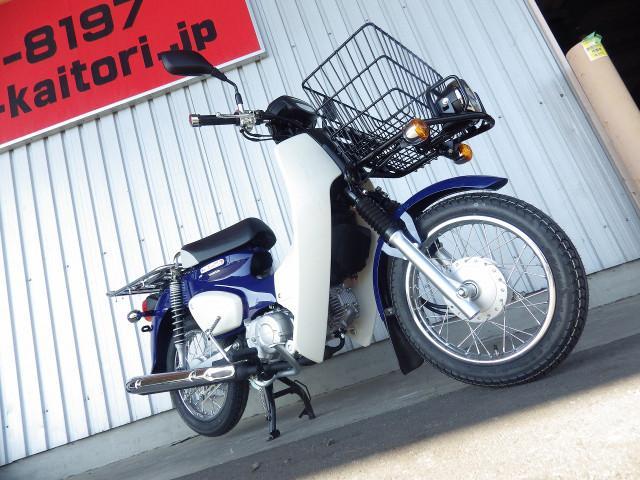 ホンダ スーパーカブ50プロ 国内現行モデル セイシェルナイトブルーの画像(東京都
