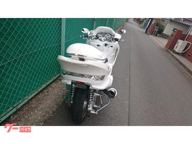 ヤマハ マジェスティC 2スピーカーフルカスタムホワイトの画像(埼玉県