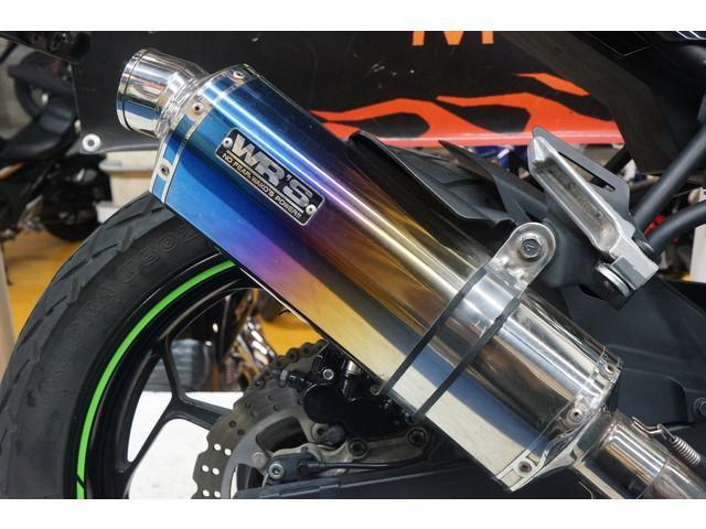 カワサキ Ninja 250SL ABS KRTエディション WR'Sマフラーの画像(埼玉県