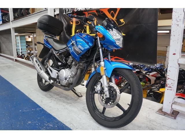ヤマハ YBR125K ブルー 大型トップケース ビキニカウルタイプの画像(埼玉県