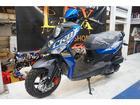 SYM CROX125 ブルー 新車 ニューモデルの画像(埼玉県