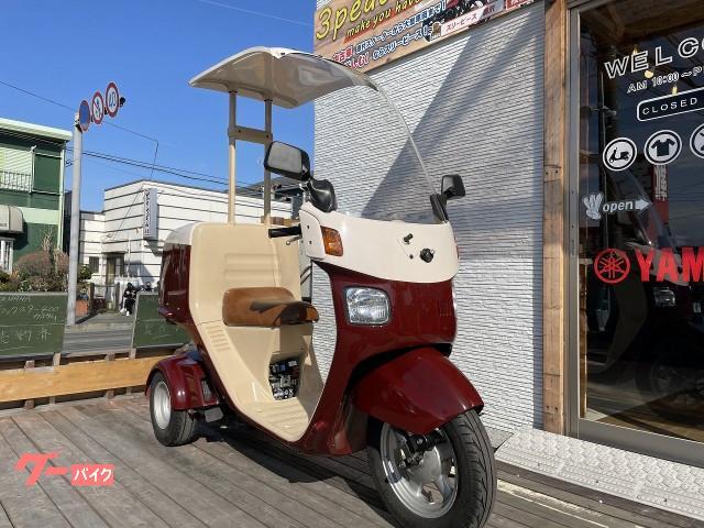 ジャイロキャノピー ミニカー仕様 エンジンO/H済 リアボックス シート張替 新品スクリーン 新品タイヤ 新品バッテリー