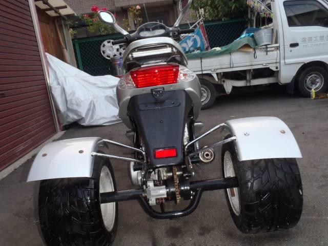 トライク 中華製スクータータイプ125cc 側車付軽二輪登録の画像(神奈川県