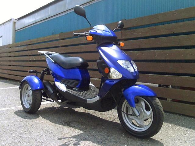 トライク トライク 海外製PGO150TR3 ブルー 側車付軽二輪の画像(神奈川県