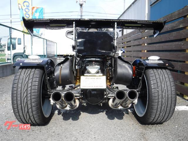 トライク トライク(751cc~)V-MAX フルラップ塗装 4本出しマフラーの画像(神奈川県