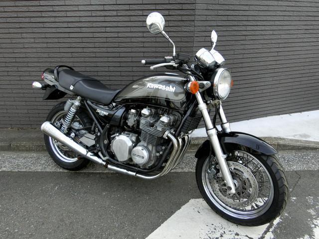 カワサキ ZEPHYR750RS ブラックボールカラー スポークホイールの画像(神奈川県