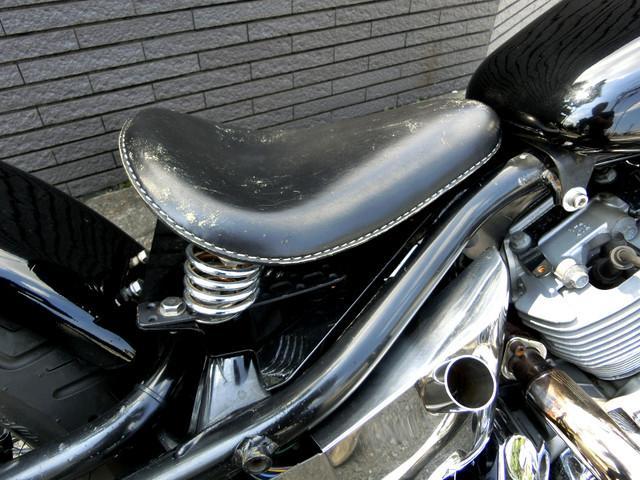 ヤマハ ドラッグスター400 ブラック ハンドシフト スプリンガーフォークの画像(神奈川県