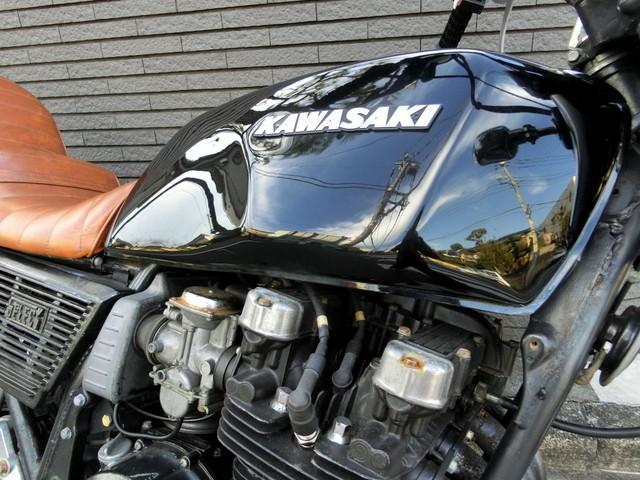 カワサキ Z750FXIII ブラック UPハンドル マットブラック集合管の画像(神奈川県