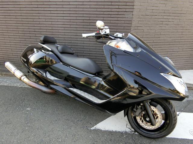 ヤマハ マグザム ブラック エアロフェイス SIRENサイレンサーの画像(神奈川県