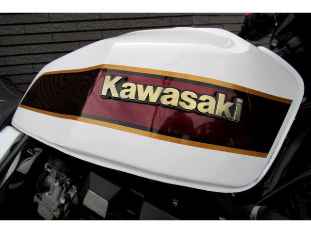 カワサキ ZRX400 ホワイトワイン アサヒナレーシング GOLDホイールの画像(神奈川県