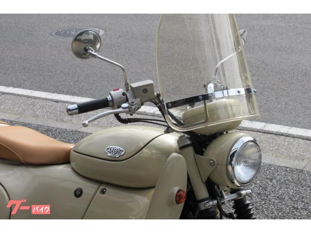 スズキ SW-1 ベージュ レトロスタイルフルカウルオートバイの画像(神奈川県