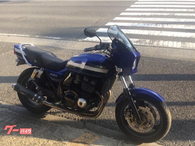 ZRX400 ブルーローソン 1200ビキニカウル モリワキZERO BEET タンデムバー