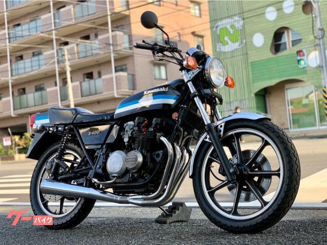 Z400FX ブラックブルー 国内 ヴァンス&ハインズマフラー