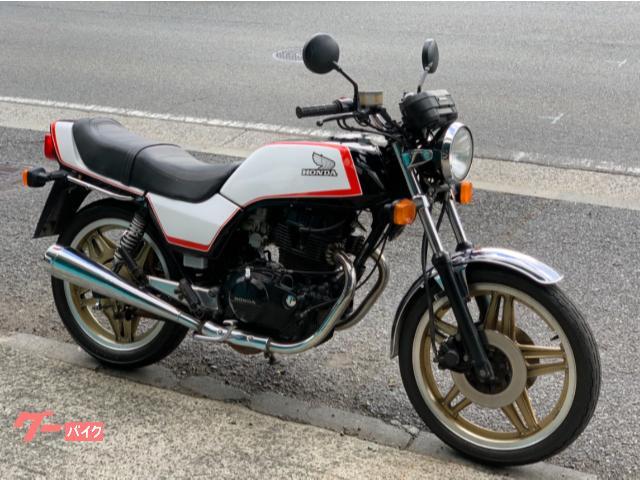 CB400N ブラックホワイトカスタムカラー