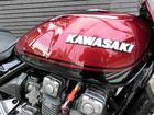 カワサキ ZEPHYR400 ブラックレッド UPハンドル 集合管の画像(神奈川県