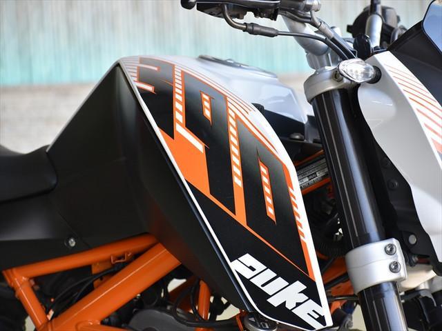 KTM 390デュークの画像(埼玉県