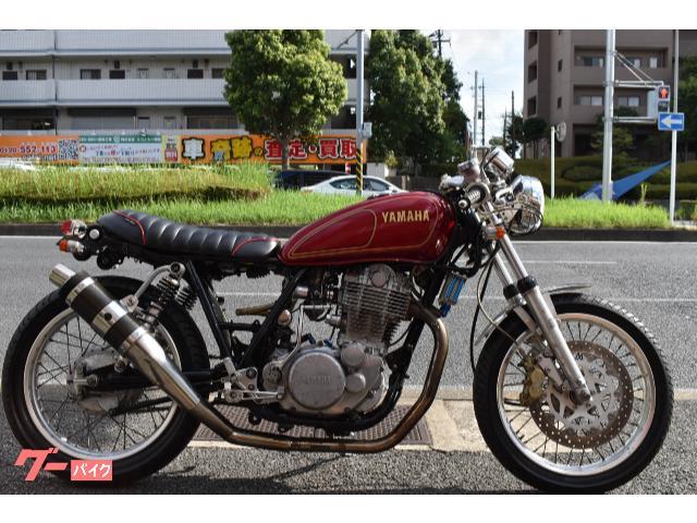 SR400 セパハンカスタム ヨシムラTMR&AAAマフラー&アールズオイルクーラー
