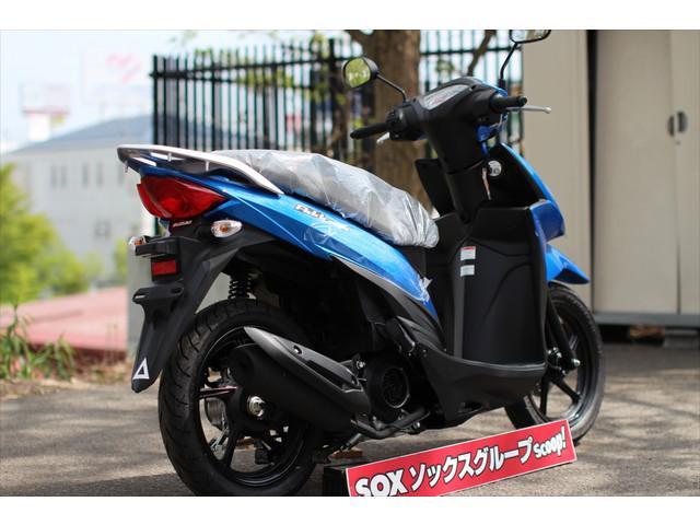 スズキ アドレス110 新型SEPエンジンの画像(北海道