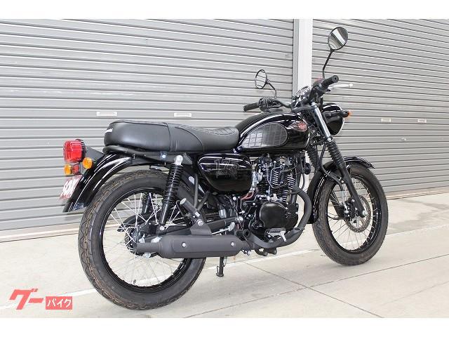 カワサキ W175 ブラックスタイル 2020年 国内未発売モデルの画像(北海道