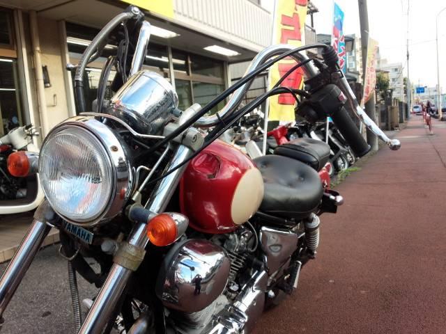 ヤマハ XV250ビラーゴ 赤クリームの画像(埼玉県