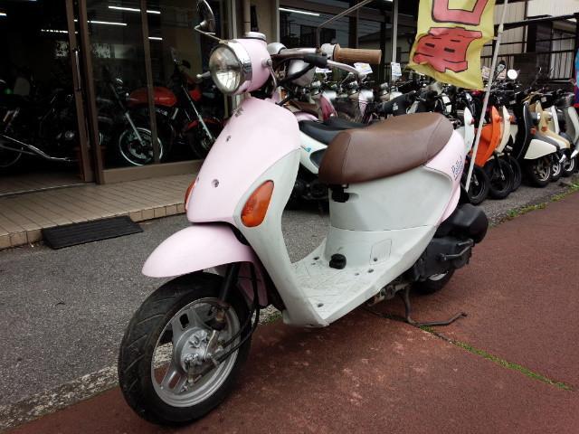 スズキ レッツ4パレット  警報アラーム ピンクの画像(埼玉県