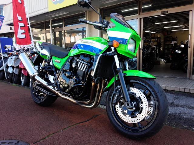 カワサキ ZRX1200R ライムグリーン フルノーマルの画像(埼玉県