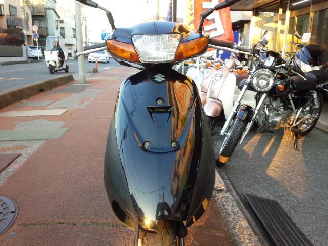 スズキ レッツII シャッタキー付き ブラックの画像(埼玉県