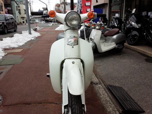 ホンダ リトルカブ ホワイトの画像(埼玉県