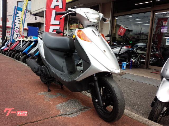 アドレスV125 4サイクル FI車 シルバー