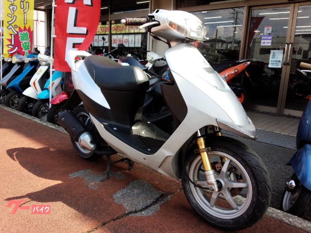 ZZ 2サイクル 12インチキャストホイール リヤスポイラー ディスクブレーキ シルバー