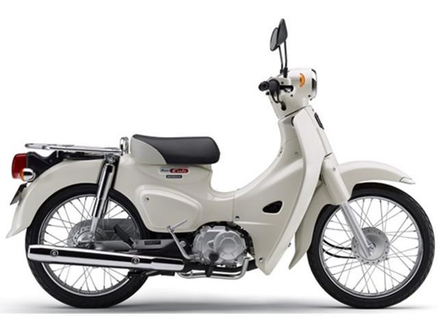 ホンダ スーパーカブ110 国内現行モデル ホワイトの画像(神奈川県