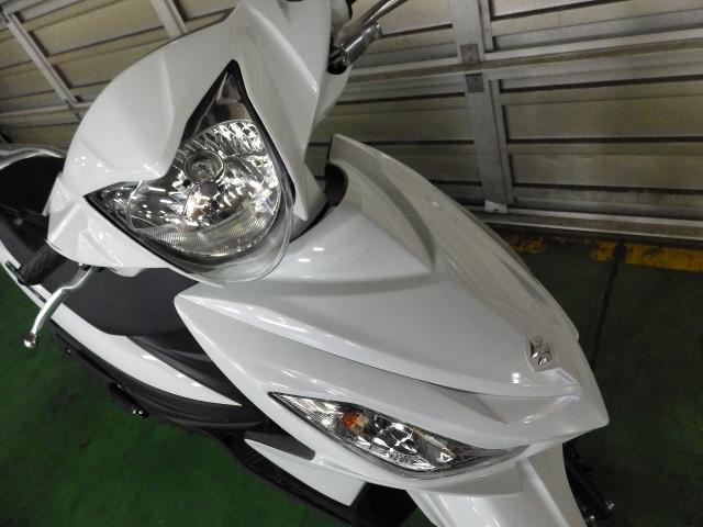 スズキ アドレス110 L8 国内モデル ホワイトの画像(神奈川県
