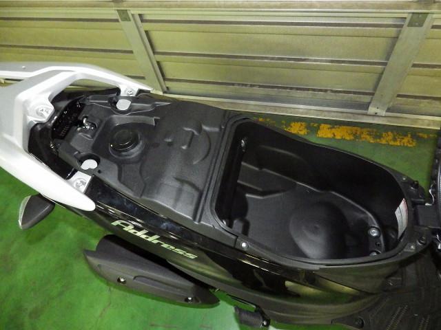スズキ アドレス110 L8 国内モデル ブラックの画像(神奈川県