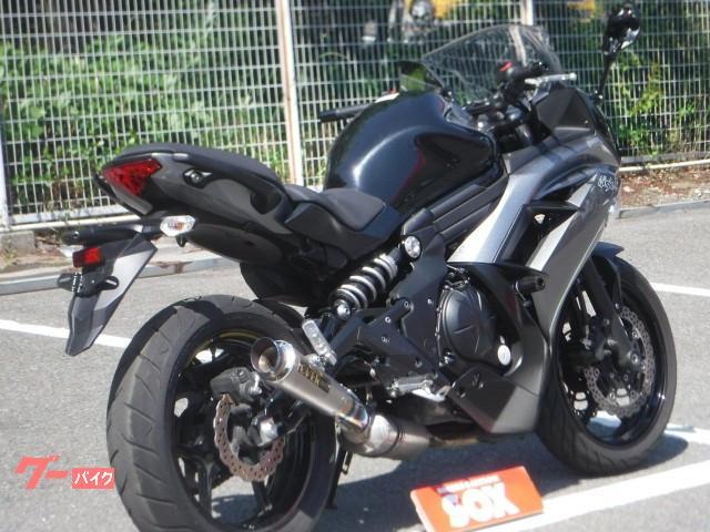 カワサキ Ninja 400 オーヴァーマフラー装備の画像(神奈川県