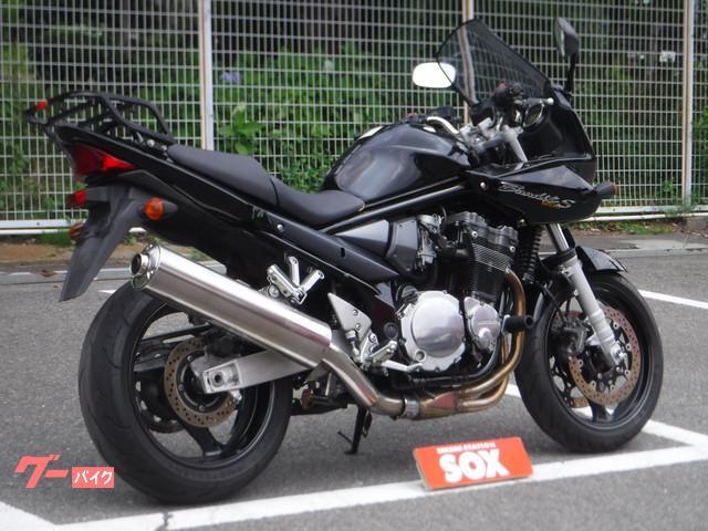 スズキ Bandit1200S GIVIスクリーン装備の画像(神奈川県