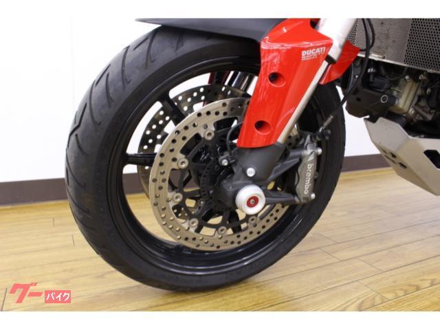 DUCATI ムルティストラーダ1200 サイドパニア ナビ ドライブレコーダー装備の画像(神奈川県