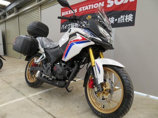 ホンダ CBF190XパニアケースTOPボックス付の画像(埼玉県