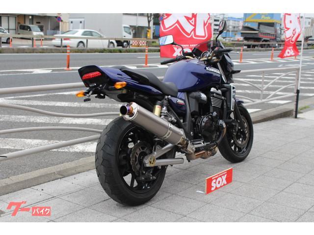 カワサキ ZRX1200 DAEG BEETスリップオンマフラーの画像(東京都